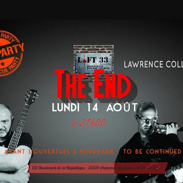 Concert Lawrence Collins Band